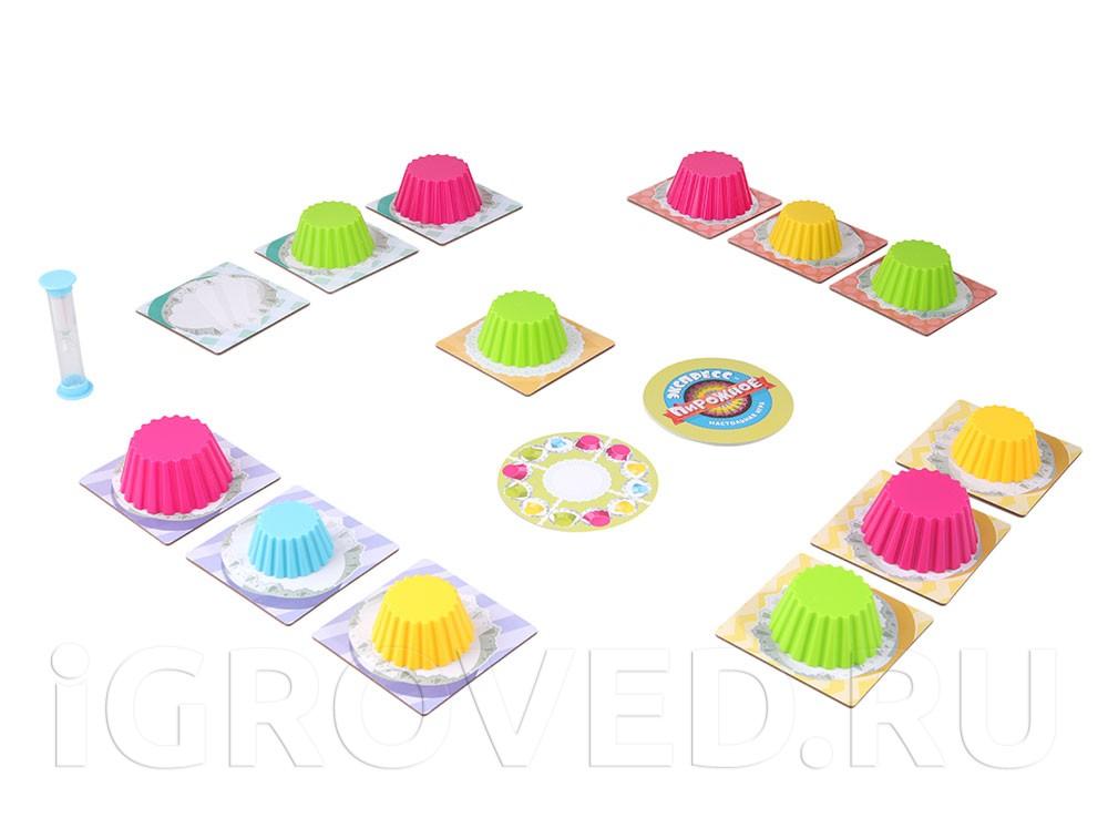 Игровой процесс настольной игры Экспресс-пирожное