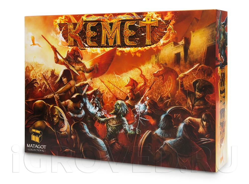 Коробка настольной игры Кемет (Kemet)