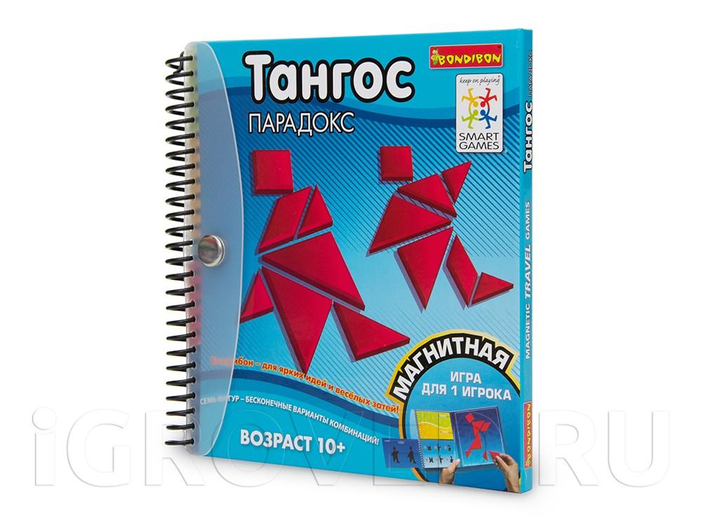 Папка настольной игры-головоломки Тангос: Парадокс