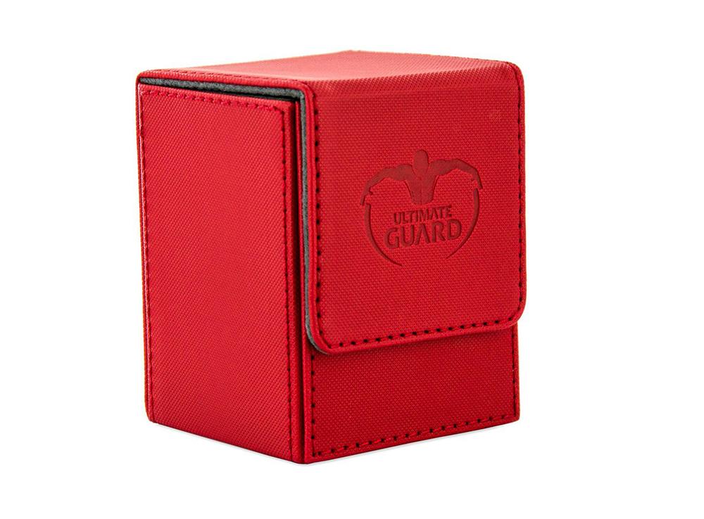 Коробочка Ultimate Guard XenoSkin красная (100 карт)