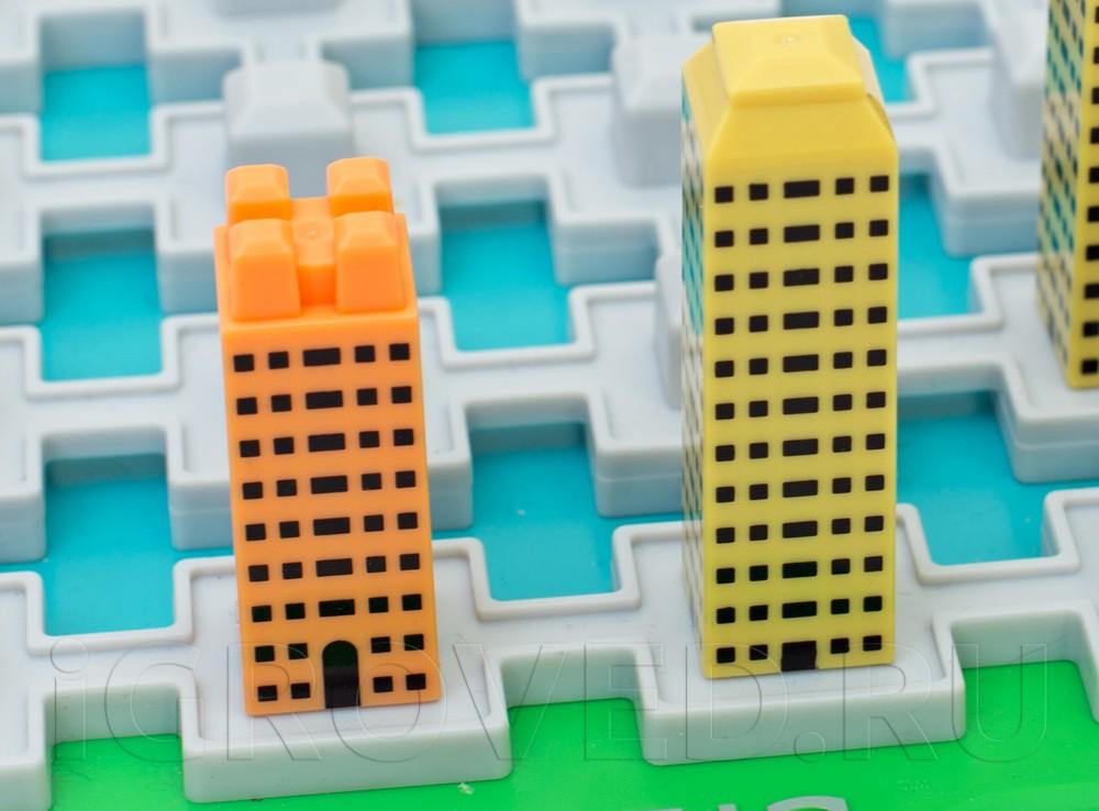 Здания на игровом поле