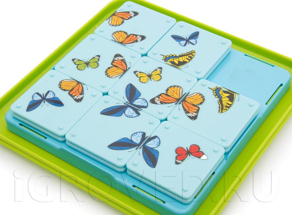 Игровое поле настольной игры-головоломки Бабочки