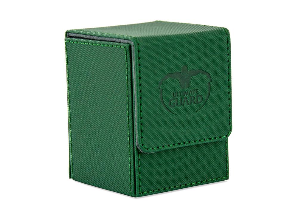 Коробочка Ultimate Guard XenoSkin зелёная (100 карт)