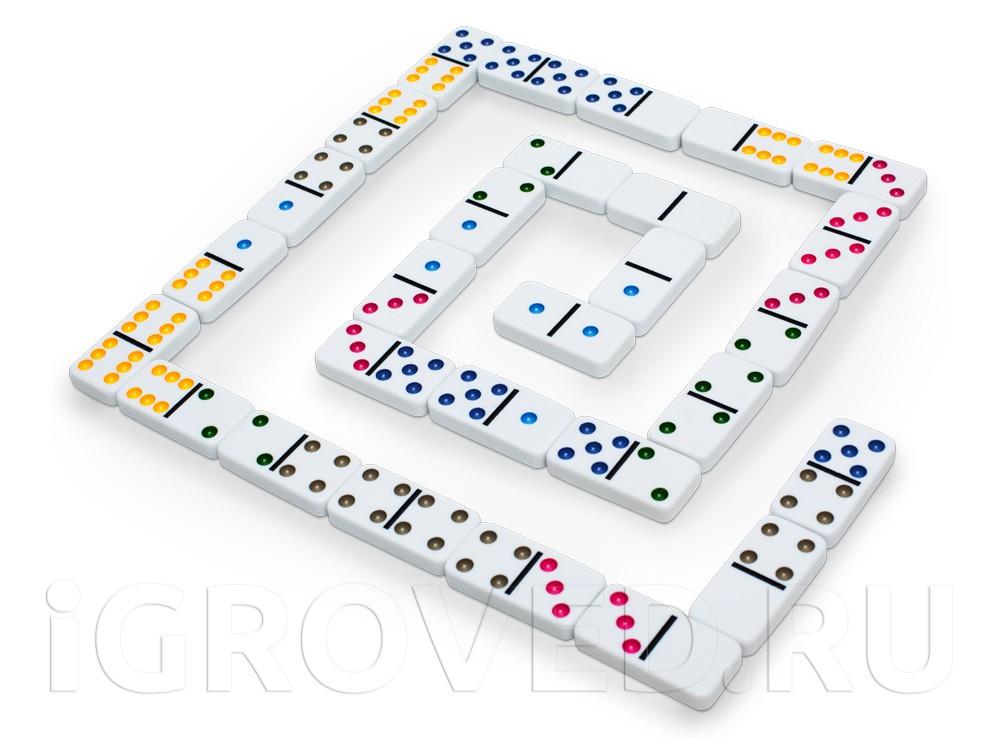 Играть домино пирамида