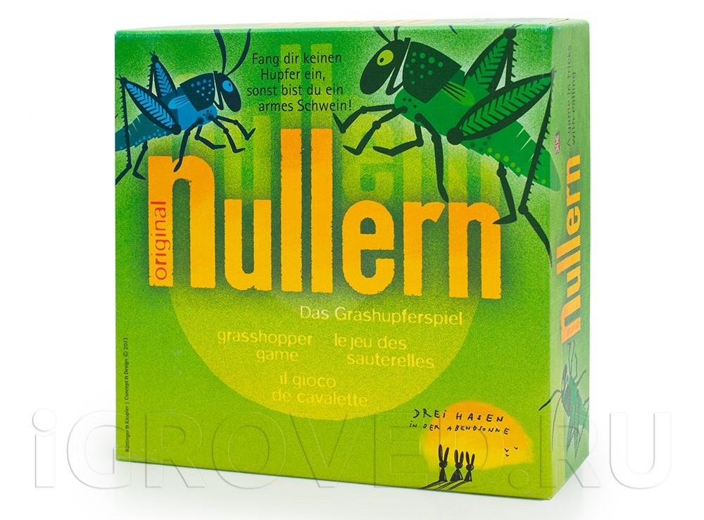 Коробка настольной игры Нуллерн (Nullern)