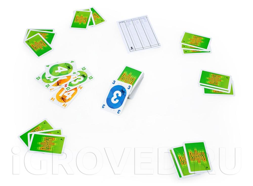 Игровой процесс настольной игры Нуллерн (Nullern)