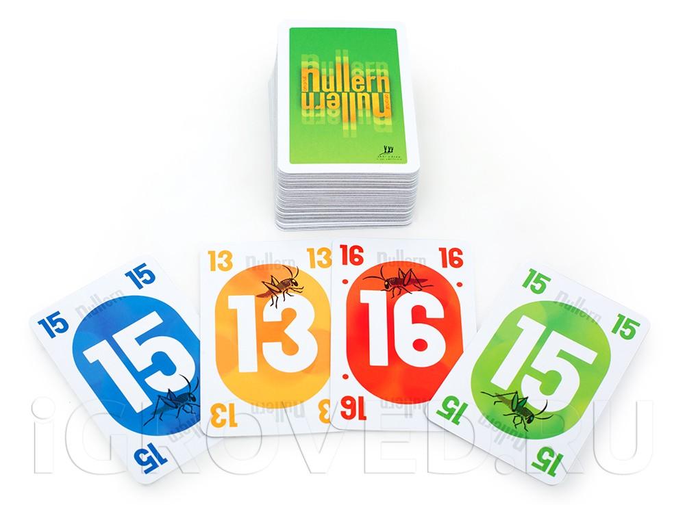 Карточки настольной игры Нуллерн (Nullern)