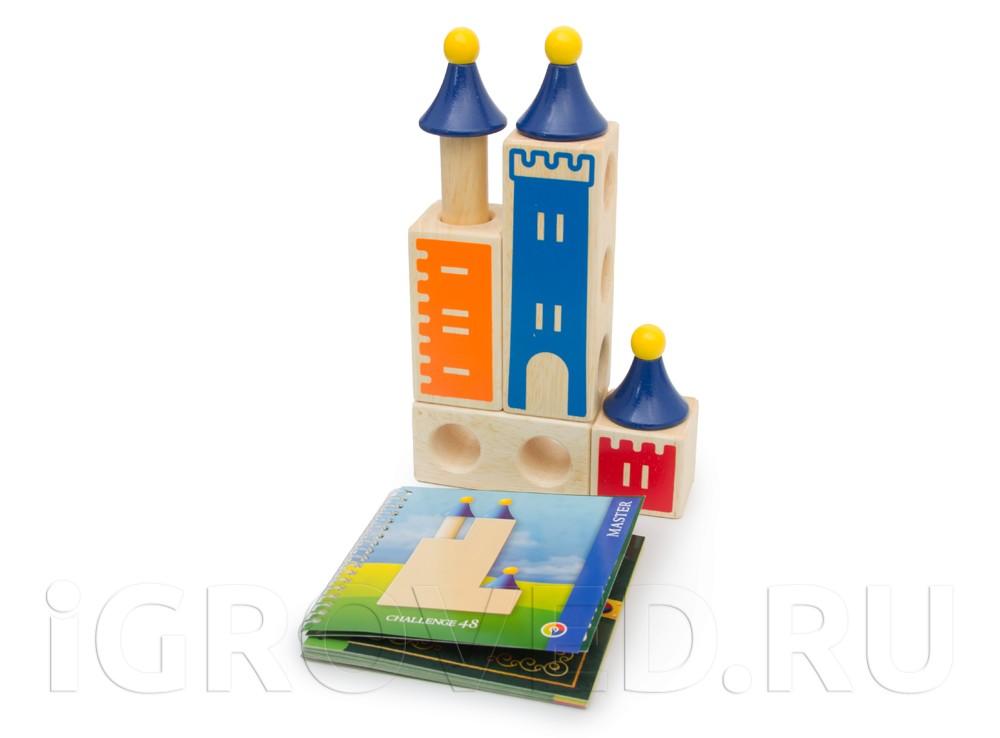 Компоненты настольной игры-головоломки Замок Загадок