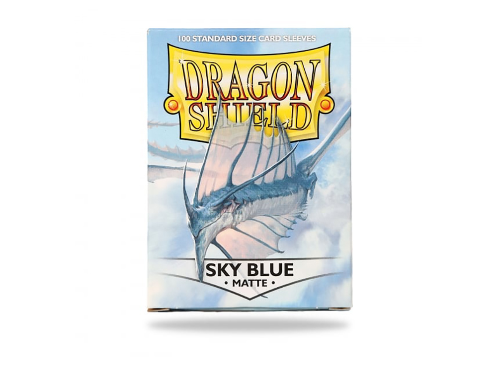 Протекторы Dragon Shield: Matte Sky Blue