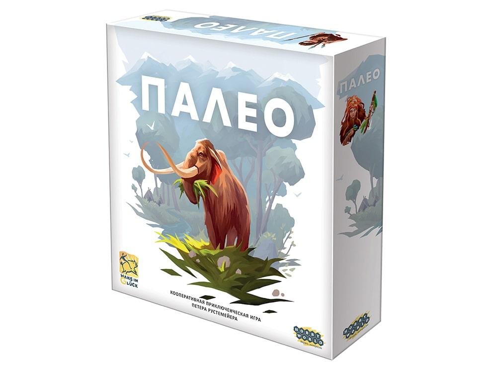 Коробка настольной игры Палео