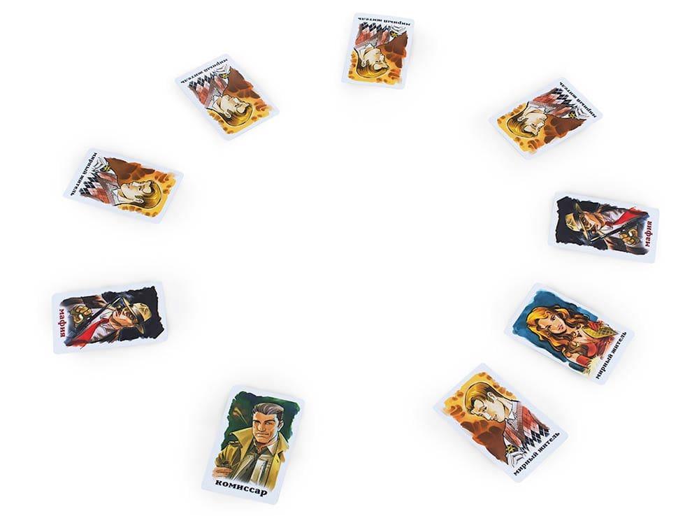 Компоненты настольной игры Мафия (Стиль Жизни)