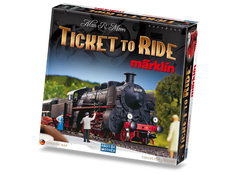 Игра Билет на поезд: редакция Марклин (Ticket to Ride: Marklin Edition)