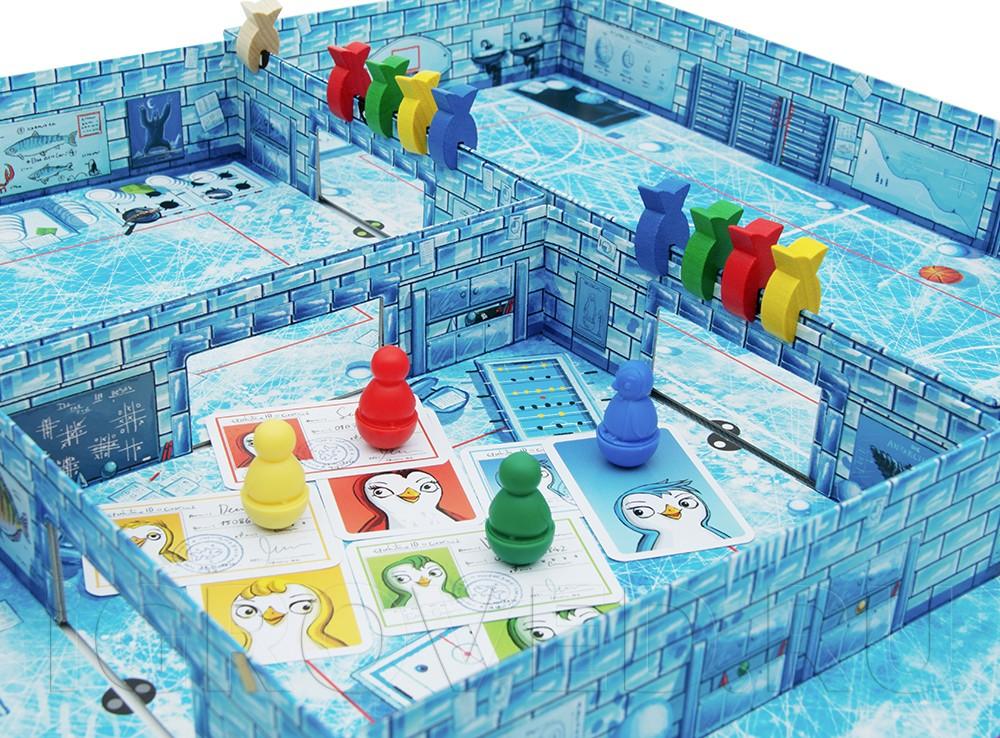 Компоненты настольной игры Айс-класс (Ice-cool)