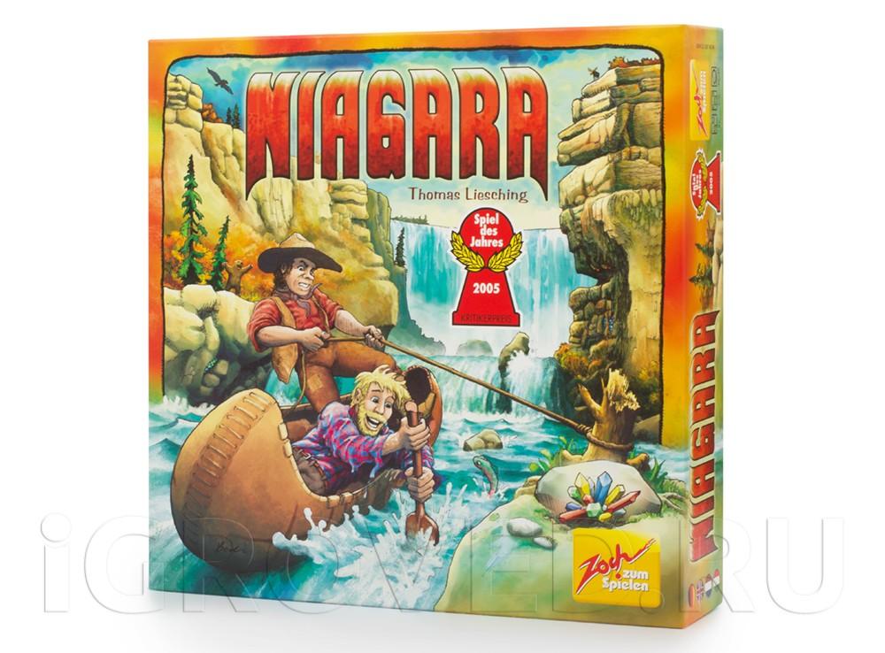 Коробка настольной игры Ниагара (Niagara)