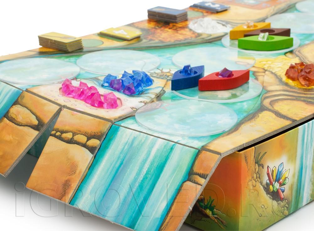 Игровой процесс настольной игры Ниагара (Niagara)