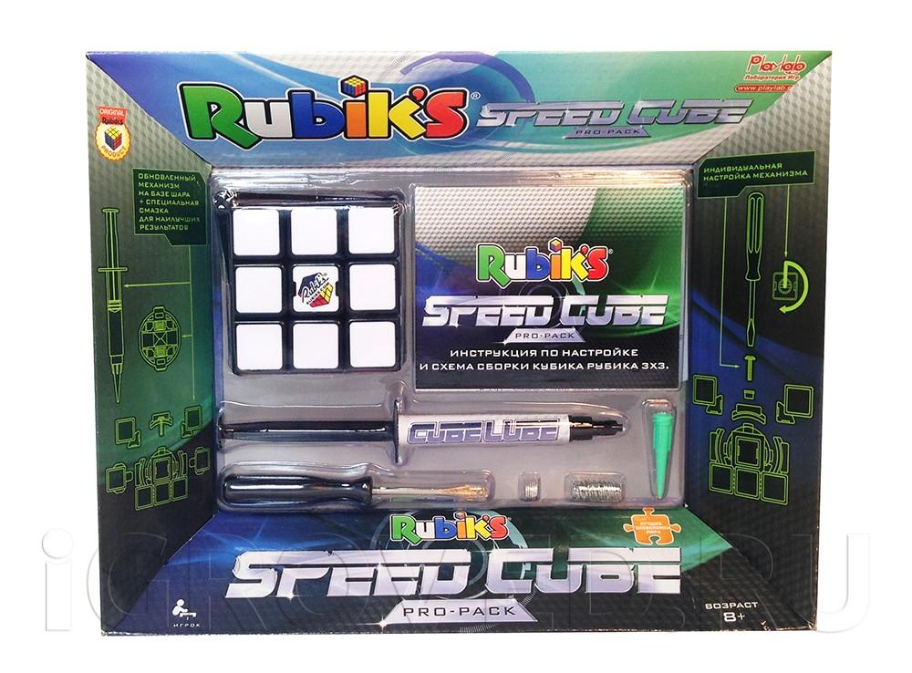 Коробка настольной игры-головоломки Скоростной Кубик Рубика 3х3