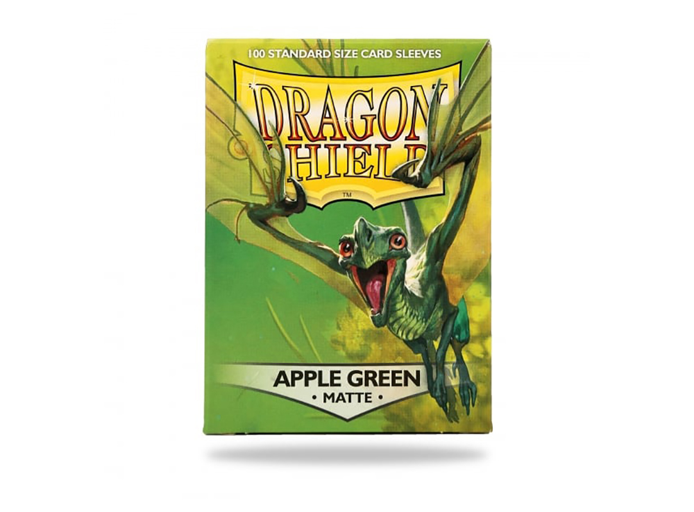 Протекторы Dragon Shield: Matte Apple Green