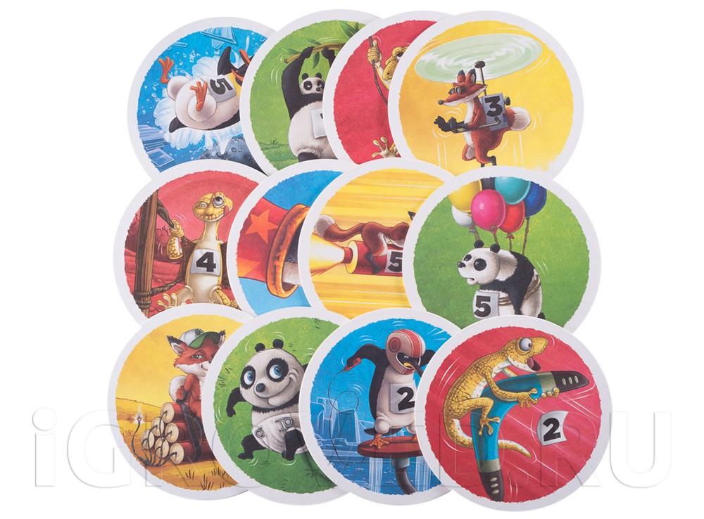 Если очень захотеть, даже Панда может полететь! Настольная игра Летать охота!