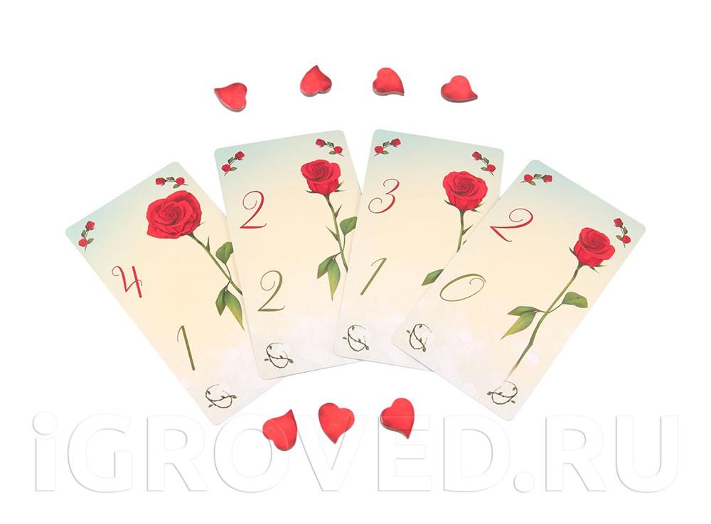Подсчёт очков обаяния в настольной игре Шипы и розы