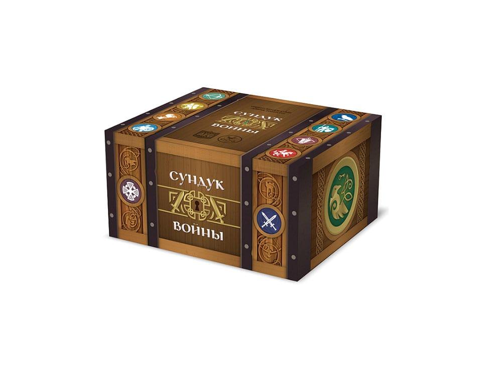 Коробка настольной игры Сундук войны