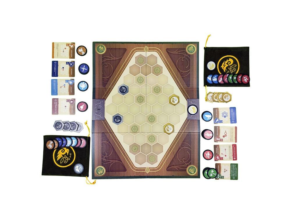 Игровой процесс настольной игры Сундук войны