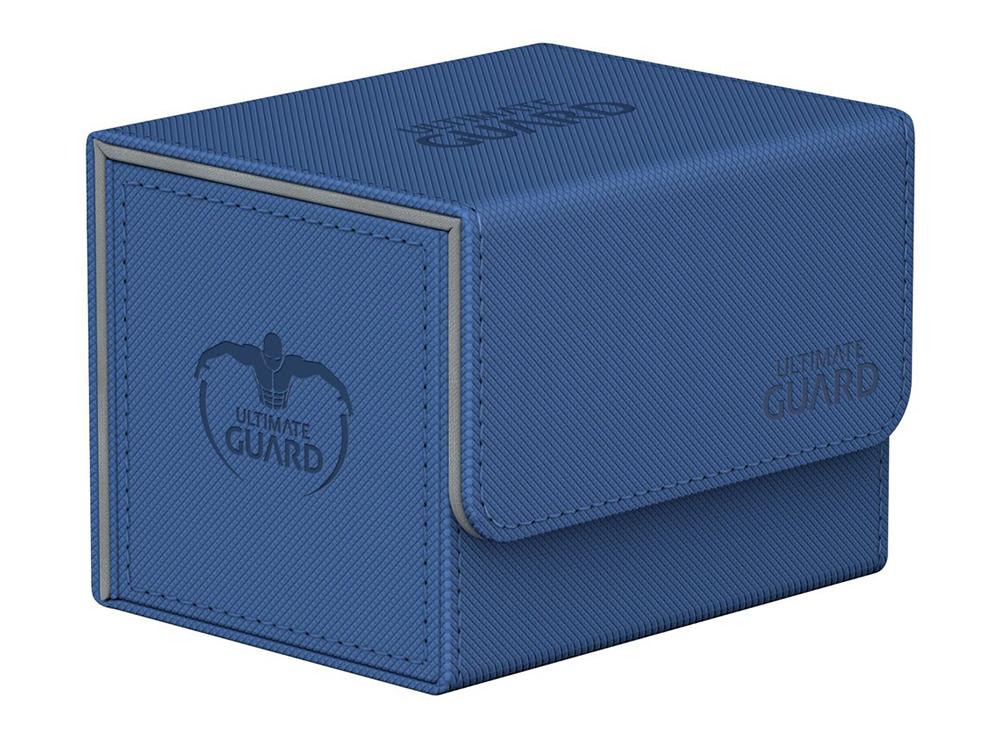 Коробочка Ultimate Guard с бок. загрузкой XenoSkin синяя (100 карт)