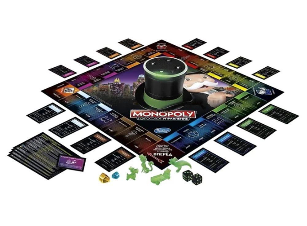 Компоненты настольной игры Монополия. Голосовое управление