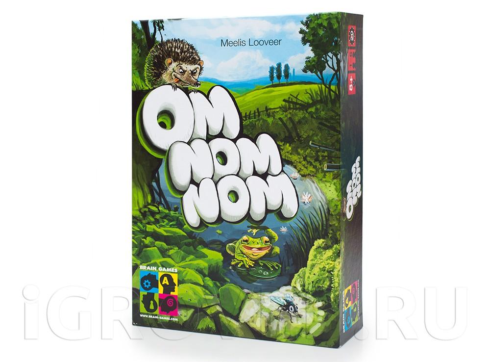 Коробка настольной игры Ом ном ном (Om Nom Nom)