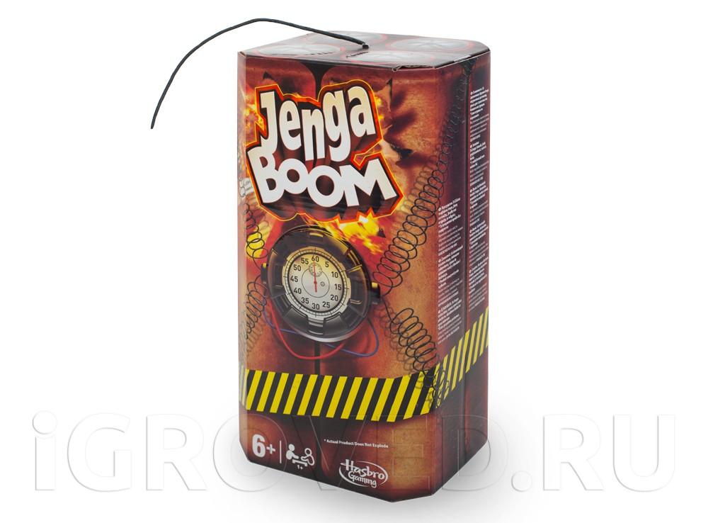 Игра Дженга Бум (Jenga Boom)