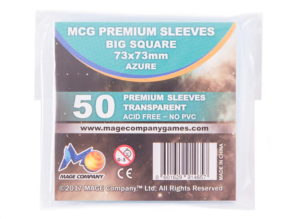 Протекторы для карт MCG Premium Big Square (73 x 73 мм)