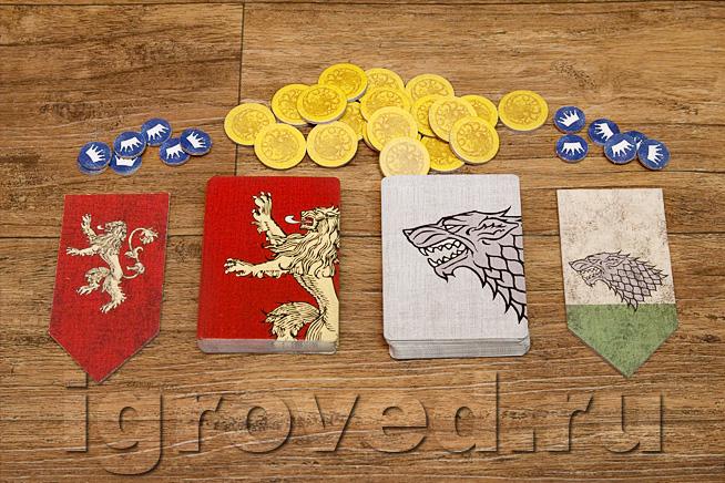 Карточная игра игра престолов hbo