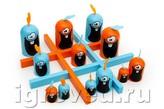 Настольная игра Гобблет для детей (Gobblet Gobblers, пластик)