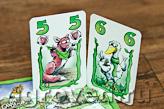 Зеленая утка склевала бы зерна, да тут лиса помешала! Настольная игра Пикник в курятнике (Hickhack in Gackelwack)