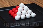 Компоненты игры выполнены из качественного, приятного на ощупь пластика