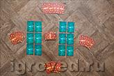 Карты Королев помещаются в центре стола, каждый игрок получает по 5 карт. Настольная игра Спящие королевы